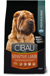 CIBAU SENSITIVE LAMB  MEDIUM & MAXI (Сибау сенситив медиум и макси с ягненком).