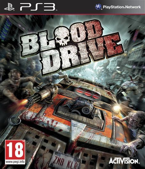 Игра Blood Drive (PS3)