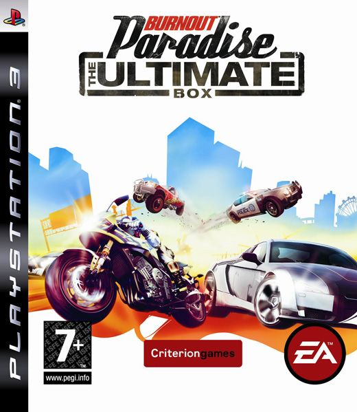 Игра Burnout Paradise (PS3)