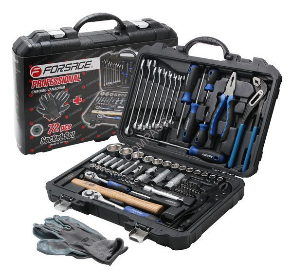 Набор инструментов Forsage 72 предмета