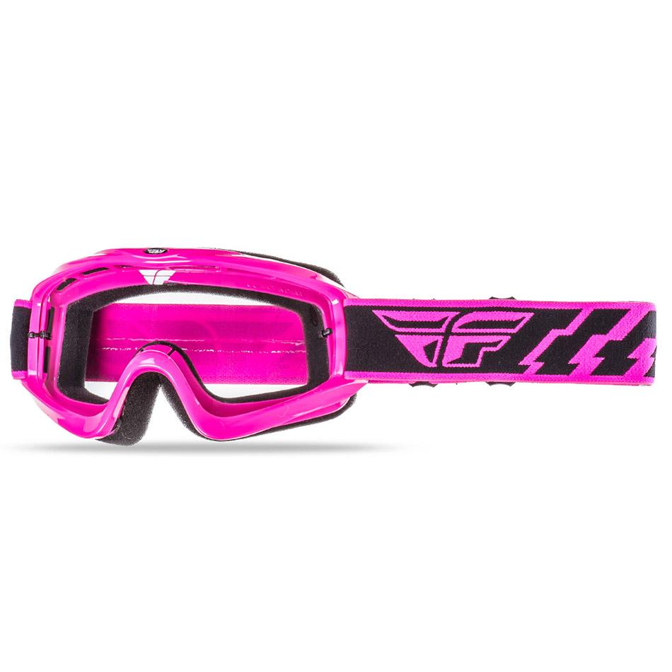 Fly - Focus очки розовые, линза прозрачная