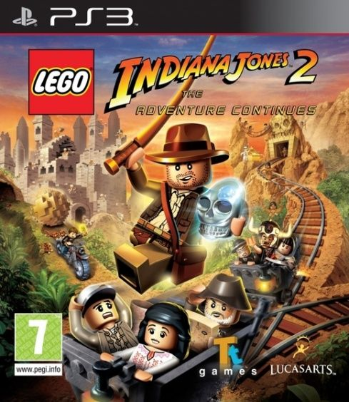Игра Lego Indiana Jones 2 Adventure Continues (PS3)