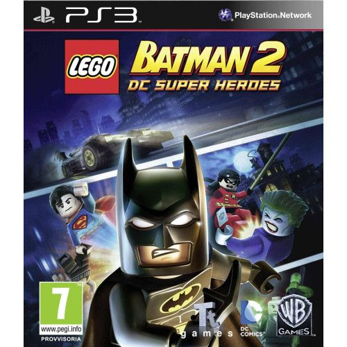Игра Lego Batman 2 DC Super Heroes (PS3)