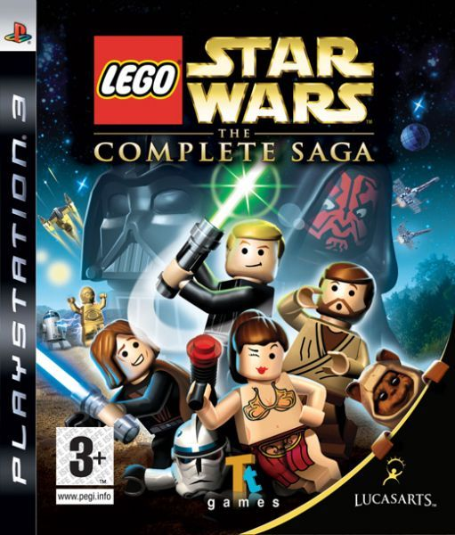 Игра Lego Star Wars The Complete Saga (PS3)