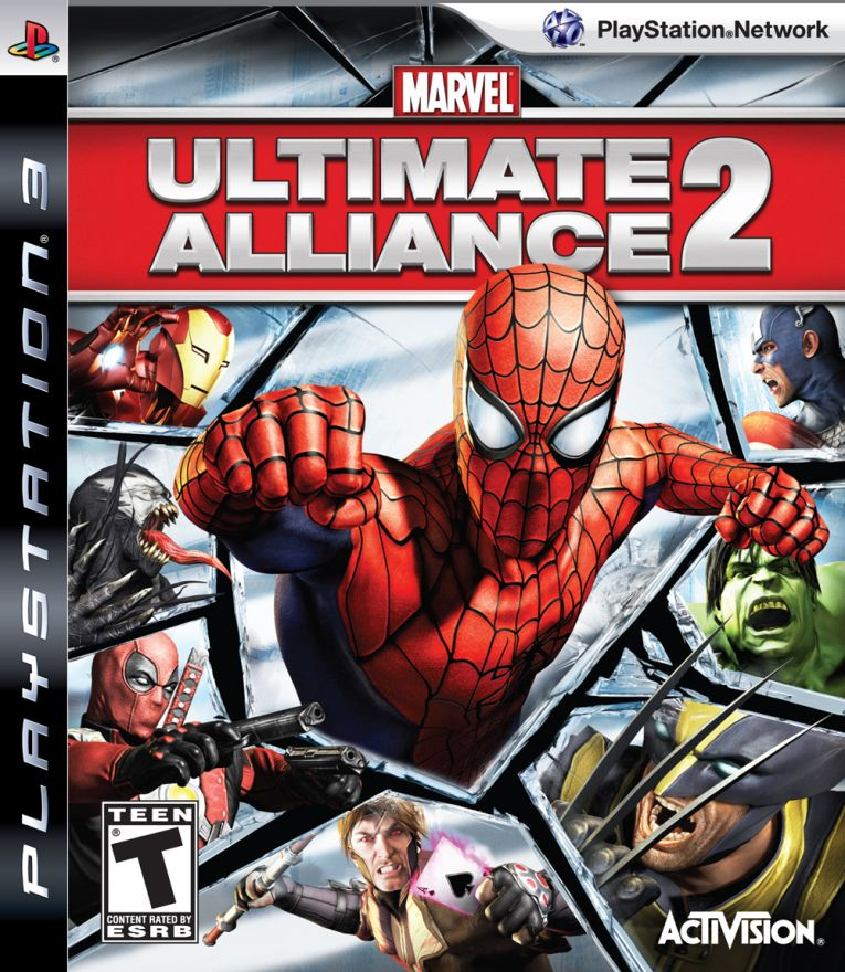 Игра Marvel Ultimate Alliance 2 (PS3)