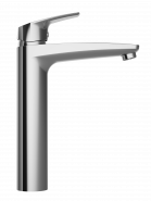 Смеситель для умывальника с донным клапаном высокий AM.PM Gem F9092200