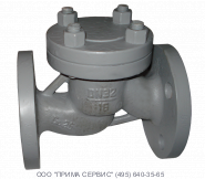 Клапан обратный 16с10нж Ду65 Ру16 подъемный стальной