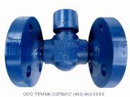 Клапан обратный подъемный фланцевый стальной 16с48нж Ду25