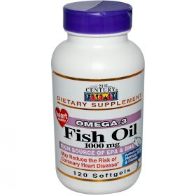 21st Century Health Care Fish Oil 1000 mg (120 капс.)