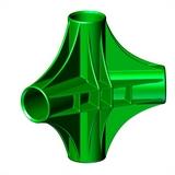 """Четырехсторонний узел для батута """"Спорт Люкс"""" SL-26052017/17; SL-26052017/18; SL-26052017/19"""