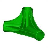 """Трёхсторонний нижний узел для батута """"Спорт Люкс"""" SL-26052017/17; SL-26052017/18; SL-26052017/19"""