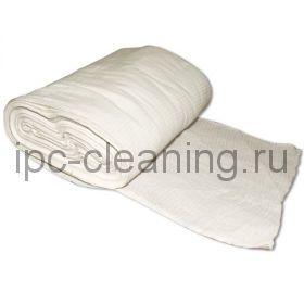 Вафельное полотно 135 отбеленное рулон 0,45х60 м