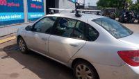 Багажник на крышу Renault Symbol, Атлант, прямоугольные дуги