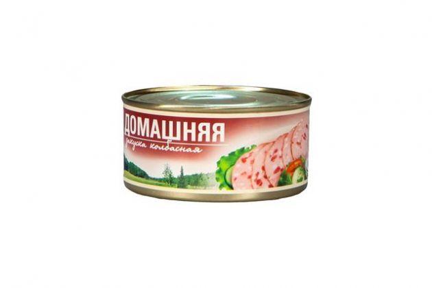 Колбасная закуска Домашняя а/б ТУ 325гр*24