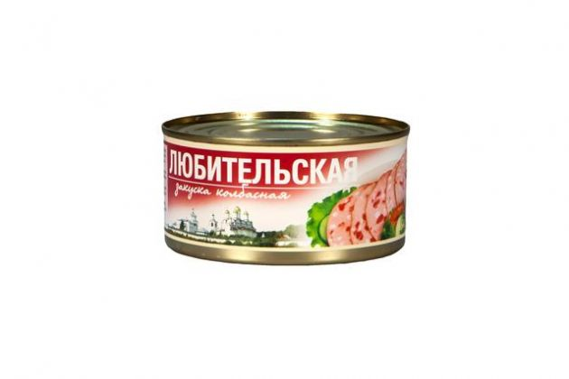 Колбасная закуска Любительская а/б ТУ 325гр*24