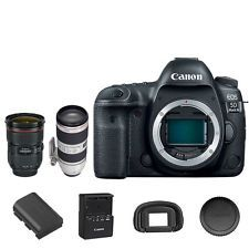 Canon EOS 5D Mark IV DSLR + 24-70mm f/2.8L II + 70-200mm f/2.8L IS II