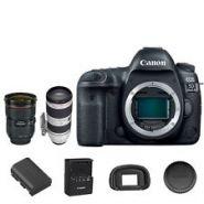 Canon EOS 5D Mark IV DSLR + 24-70mm f/2.8L II + 70-200mm f/2.8L IS II