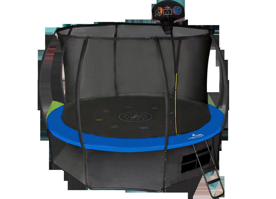 Батут с внутренней защитной сеткой - Hasttings Air Game (3,05м), цвет синий