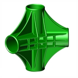 """Четырехсторонний узел для батута """"Спорт Люкс"""" SL-26052017/20; SL-26052017/21; SL-26052017/22"""