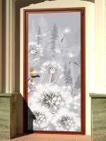 Наклейка на дверь - Все будет белым, купить в магазине Интерьерные наклейки