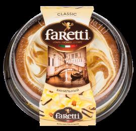 """Торт бисквитный """"Faretti"""" ванильный 400гр*6"""