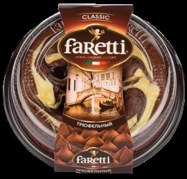 """Торт бисквитный """"Faretti"""" трюфель 400гр*6"""
