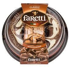 """Торт бисквитный """"Faretti"""" шоколадный 400гр*6"""
