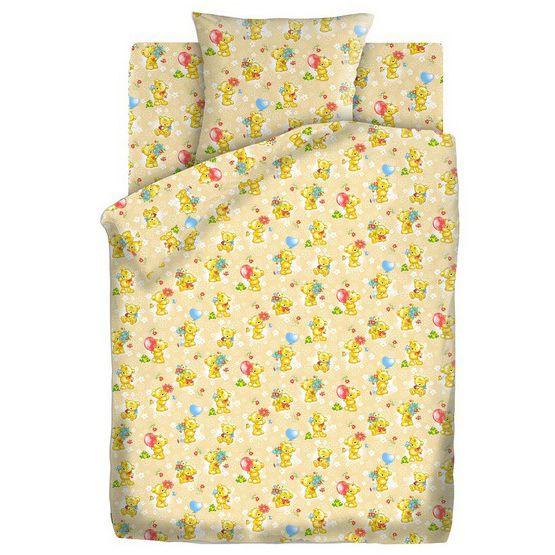 """Детское постельное бельё """"Мишки-игрушки"""", рис.4445-3"""