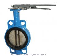 Затвор поворотный дисковый чугунный с уплотнительной манжетой EPDM 32ч16р Ру10, 16