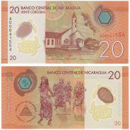 Никарагуа 20 кордоба 2014 (2015) UNC ПРЕСС ИЗ ПАЧКИ