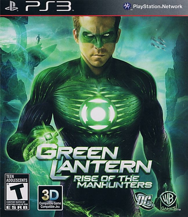 Игра Green Lantern Rise of the Manhunters (PS3)
