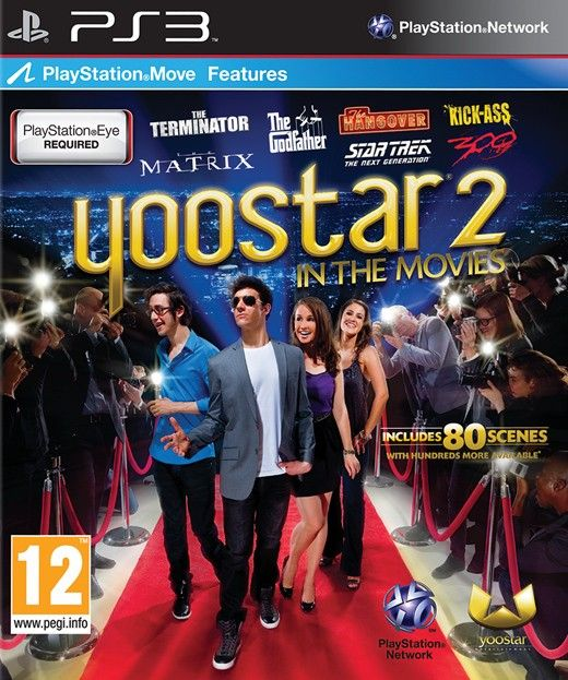 Игра Yoostar 2 in the movies (PS3)