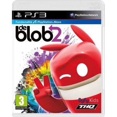 Игра De Blob 2 (PS3, PS Move)