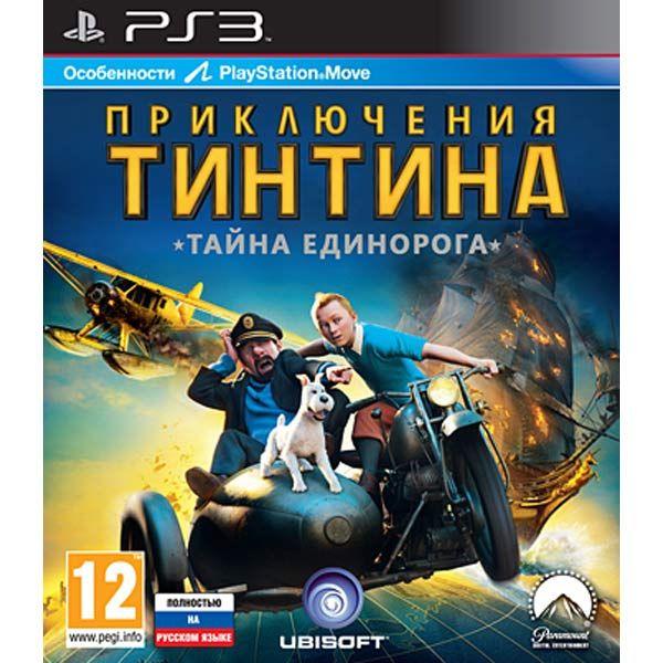 Игра Приключения Тинтина: Тайна Единорога (PS3, PS Move)