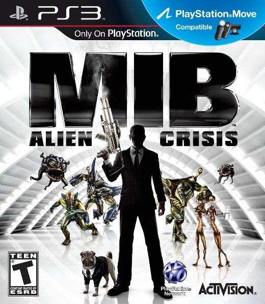 Игра MIB (Люди в черном) Alien Crisis (PS3)