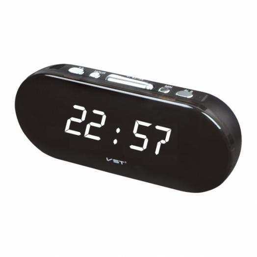 Часы эл. VST715-6 бел.цифры