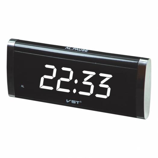 Часы эл. VST730-6 бел.цифры