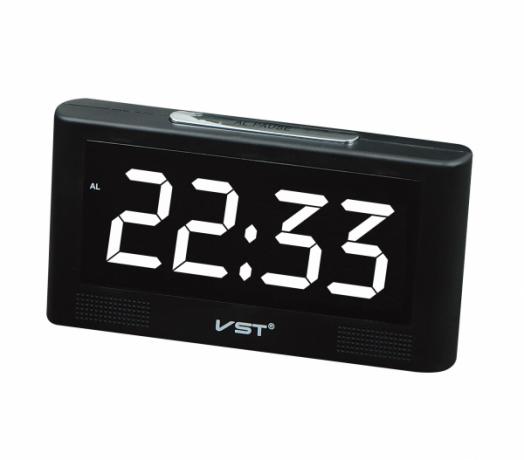 Часы эл. VST732-6 бел.цифры