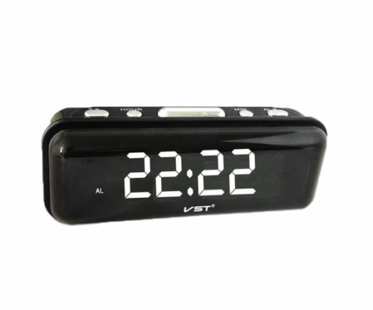 Часы эл. VST738-6 бел.цифры