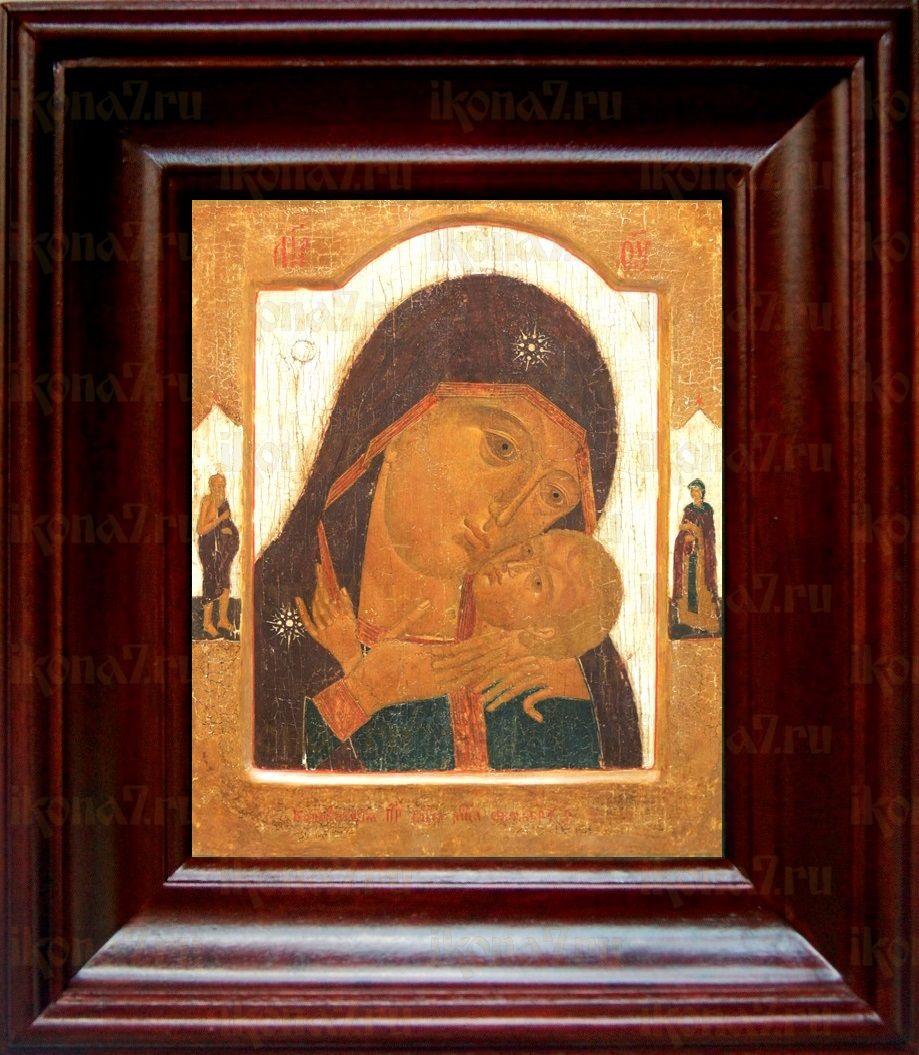 Корсунская икона БМ (21х24), простой киот