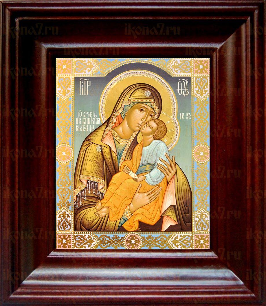 Мати Молебница (21х24), простой киот