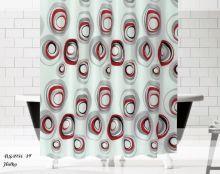 """Шторы  для ванной """"EVDY""""  DROP 180*200 см  Арт.2794-14"""
