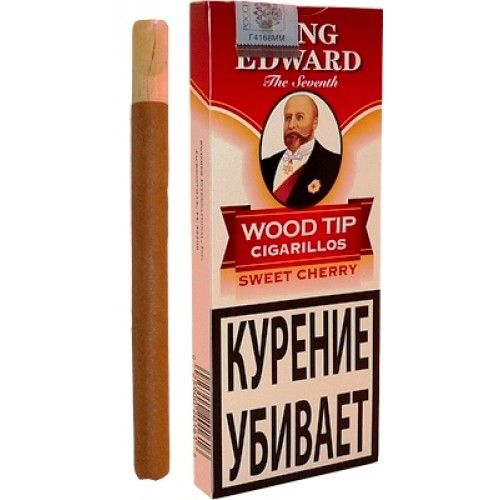 King Edward Sweet Cherry Wood Tip Cigarillos