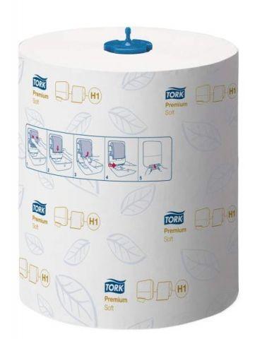 TORK бумажные полотенца 1сл (шт=5рул)