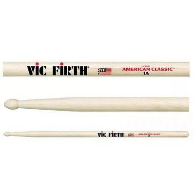 VIC FIRTH 1A Барабанные палочки