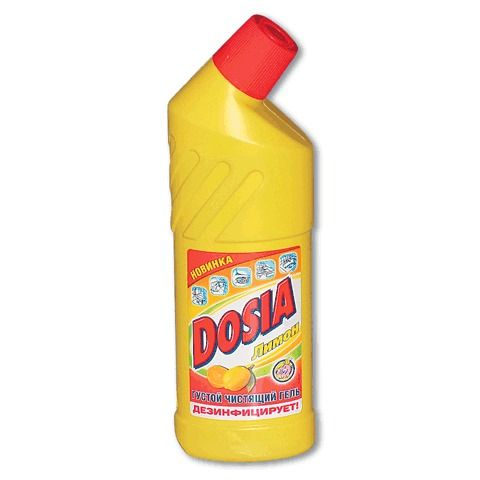 Средство чистящее DOSIA лимон 750мл