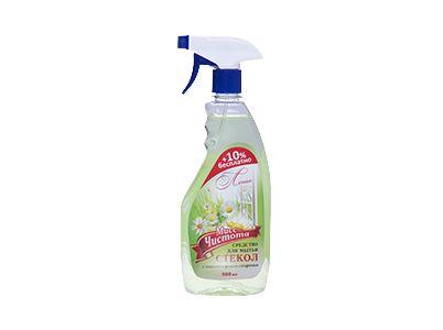 Мисс Чистота для мытья стекол Лимон курок 0,75л