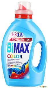 Жидкий гель для стирки BIMAX Колор 1,5л