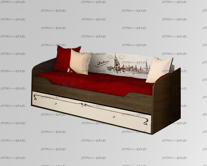 Комплект: подушки и покрывало Фанки Авто (3+1)