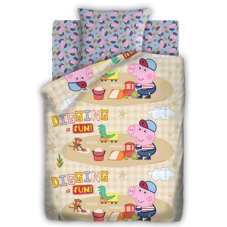 """Детское постельное белье """"Песочница"""", рис.8800+8801-1."""